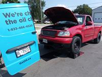 we service cars, SUVs, pickup trucks... basically anything that uses oil