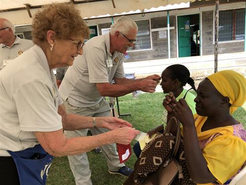 Jeff & Mary on Kenya Mission Trip