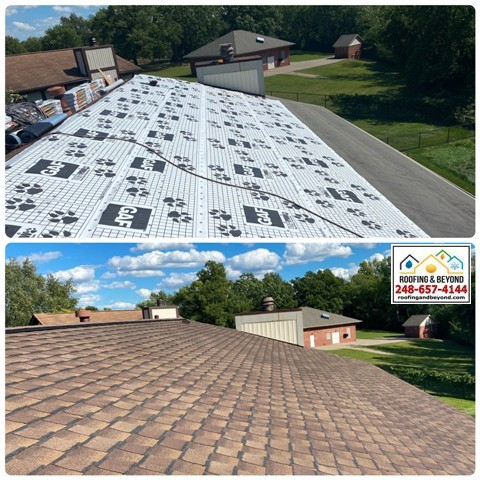 Existing Roof Replaced in Waterford, MI