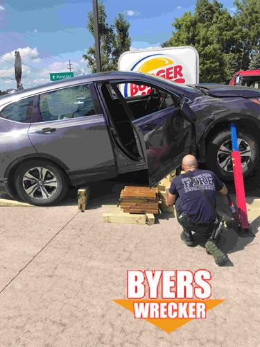 Byers providing roadside assistance