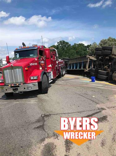 Byers Heavy Towing Near Clarkston