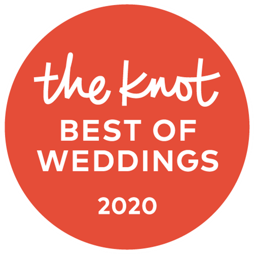 Voted Best of Wedding on the Knot