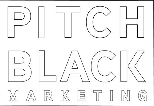 Pitch Black Marketing Logo
