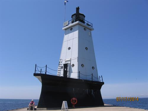 Ludington North Breakwater Lighthouse