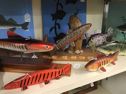Fishing memorbilia