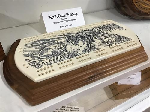 Great selection of cribbage boards!