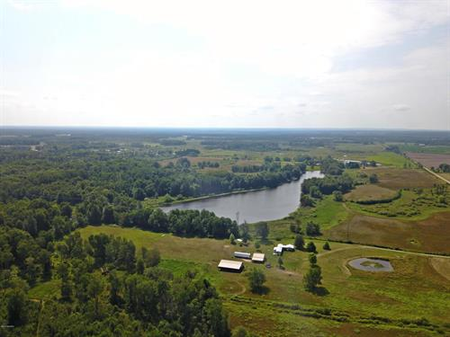 1606 N Stephens Rd, 38+ Acres, Custer, MI