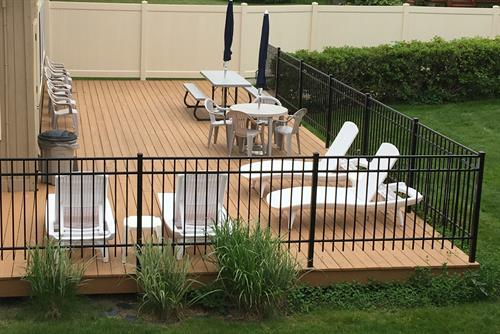 Exterior Pool Deck. Picnic, sunbathe,relax...