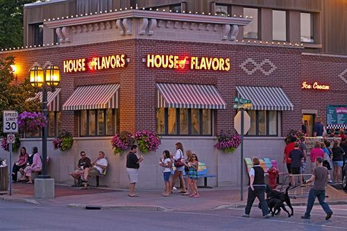 House of Flavors Restaurant. Our guests can get breakfast here! Buy one get one free breakfast at HOF! Any breakfast you want!
