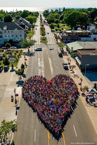 Love Ludington Campaign! Photo by local photographer, Brad Reed. Ludington is a great place!