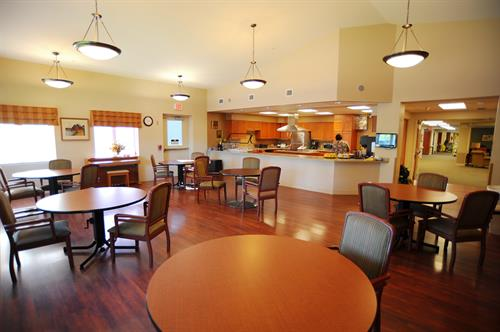 Sutter Living Center Dining Room