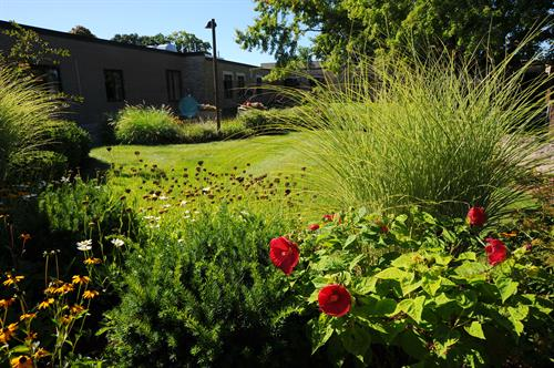 One of our beautiful outside areas for residents and family members to enjoy