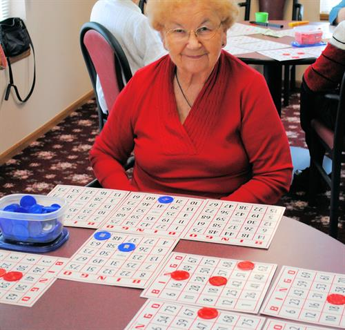 Bingo Every Friday for All Tenants & Their Family & Friends