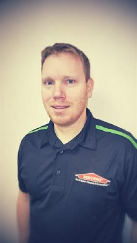 David Gancarz- Production Crew Leader of SERVPRO of Manistee, Ludington & Cadillac