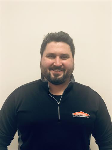 Chuck Kolk- Production Manager of SERVPRO of Manistee, Ludington & Cadillac