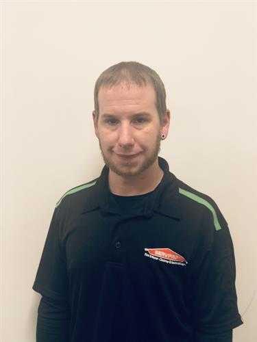 Don Spinner- Production technician of SERVPRO of Manistee, Ludington & Cadillac