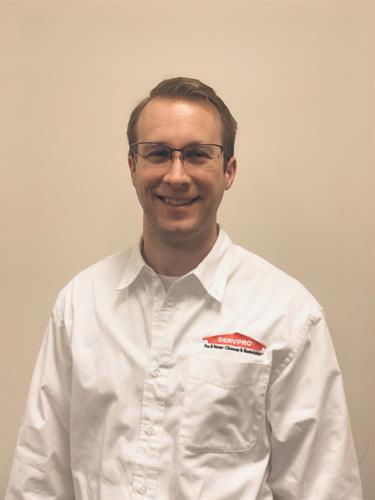 Nick Jablonowski- Vice President & General Manager of SERVPRO of Manistee, Ludington & Cadillac