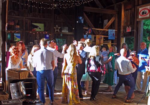 Bicknell Wedding/Reception 2018 - Barn Dance!