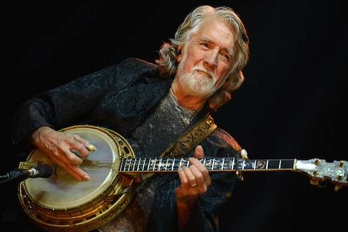 John McEuen of the Nitty Gritty Dirt Band performed in front of 200 in 2018