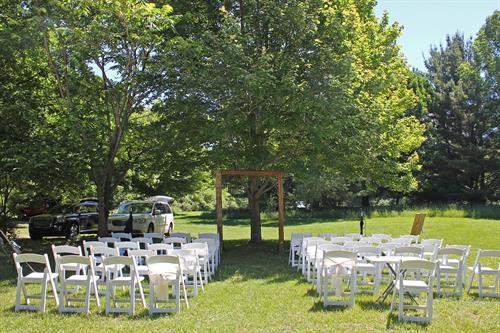 Bicknell Wedding/Reception 2018 - Wedding Seating