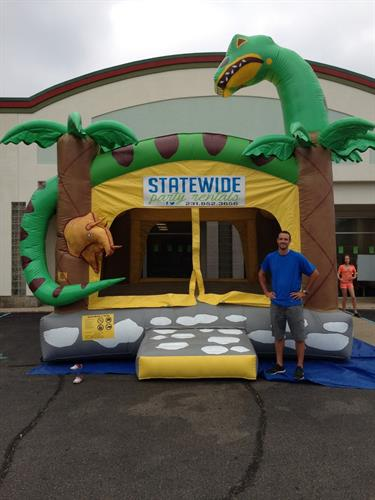 Dino- One of our new inflatables