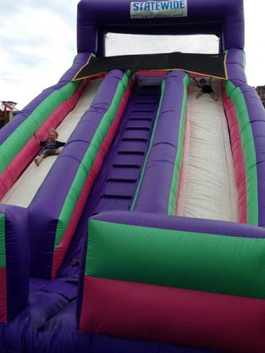 Dual Slide- One of our most popular inflatables
