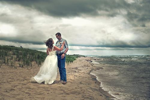Gone with the Wind (Signature Edit,Ludington State Park)