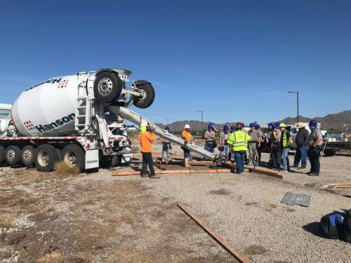Hanson Aggregates is proud to participate in a variety of education experiences. Big thank you to West-Mec - Verrado High School and Standard Concrete