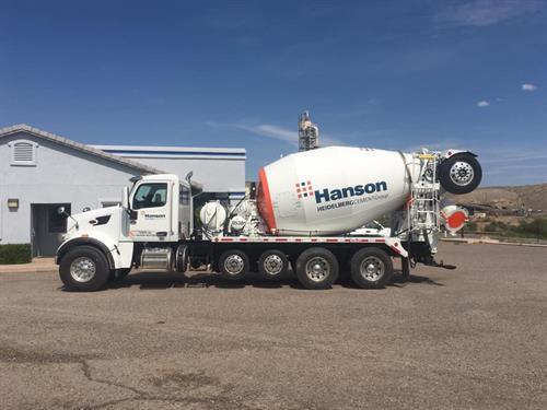 Hanson Ready Mix Truck