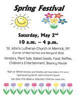 St. John's Lutheran Church Spring Festival