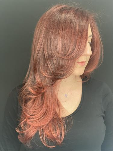 Color by Victoria and cut by Courtney