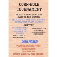 Allen County Fair Cornhole Tournament