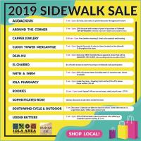 2019 Summer Sidewalk Sale
