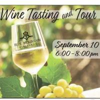 Wine Tasting at Blue Mountain Vineyards