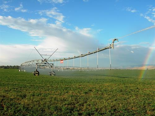 Northern Water supplies supplemental water for 640,000 acres of irrigated farmland.