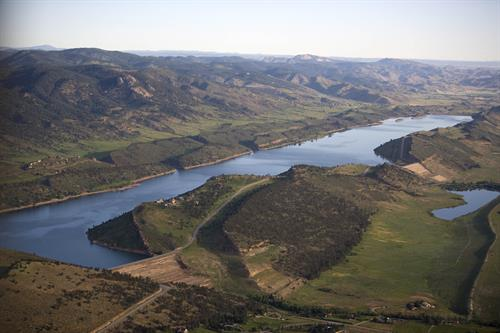 Horsetooth Reservoir is part of the Colorado-Big Thompson project that Northern Water manages.