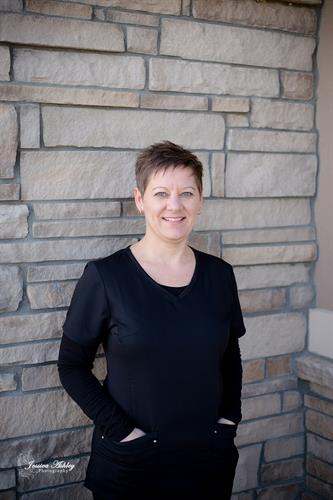 Our office manager Shawna