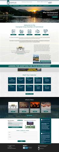 Evergreen Chamber Website Design, Hosting & Development