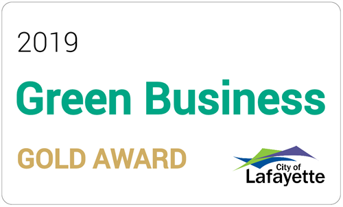 City of Lafayette Green Business Gold Award