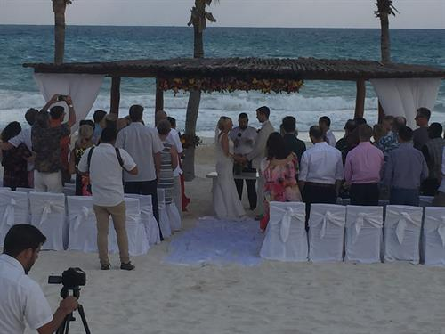 Riviera Maya at the beautiful Sandals Resort~Destination Wedding