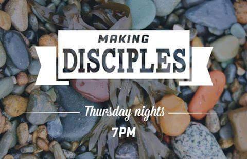 Discipleship Classes, Thursdays @ 7pm
