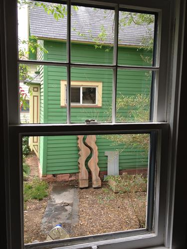 After - French Pane Window