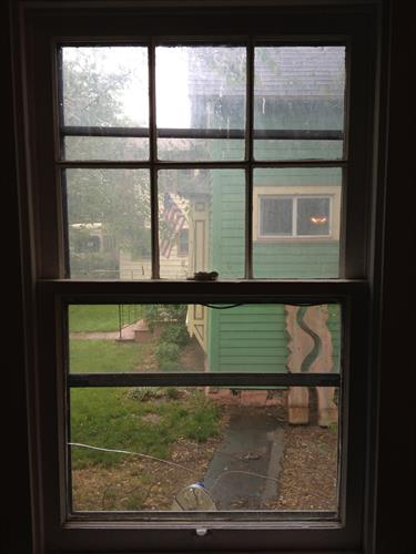 Before - French Pane Window