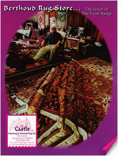 Northern Colorado's oldest and largest Oriental rug sales and service establishment.
