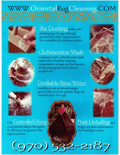 How we Dust, Wash, Rinse and Dry Oriental rugs....
