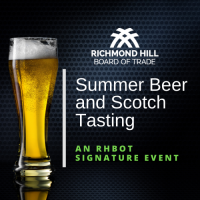 RHBOT Summer Beer and Scotch Tasting Event