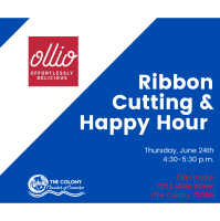Ollio Patisserie Ribbon Cutting and Sweet Treat Hour
