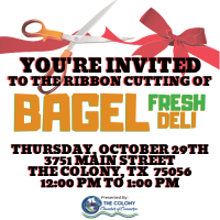 Ribbon Cutting Celebration for Bagel Fresh Deli