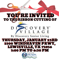 Ribbon Cutting Celebration for Discovery Village