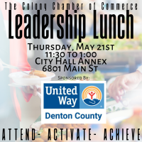Leadership Lunch- May